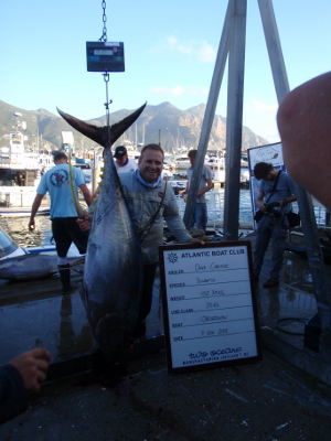 103kg yellowfin tuna